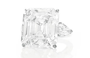 The Annenberg Diamond - Asscher Cut
