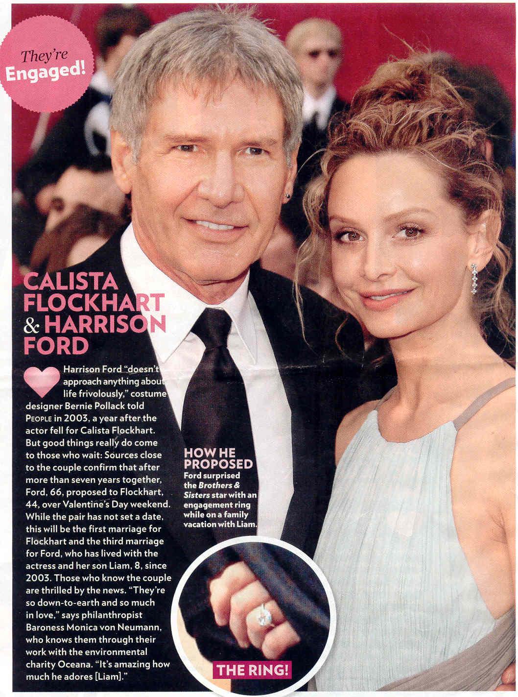 Calista Flockhart's Engagement Ring