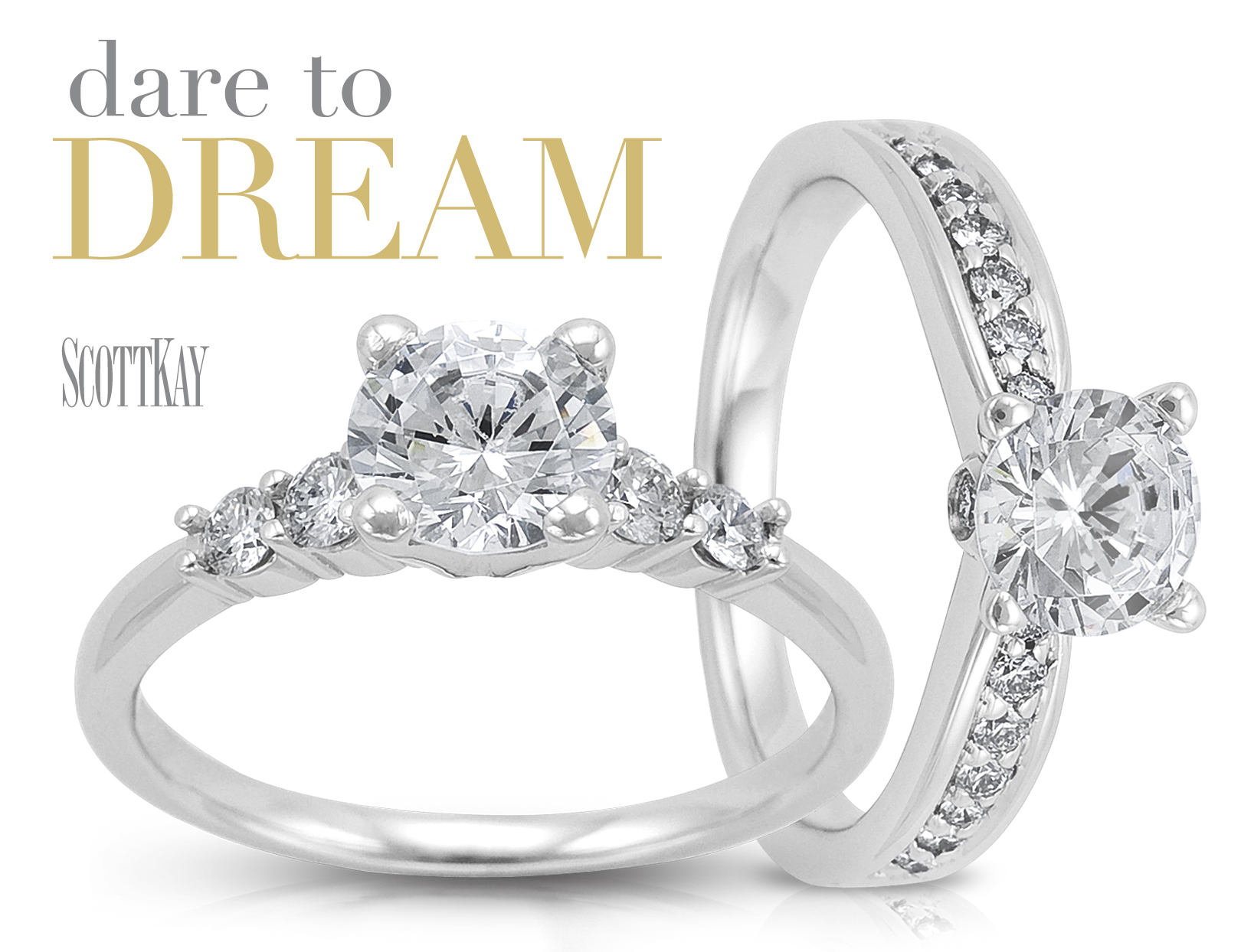 make it a platinum weekend at the engagement ring store