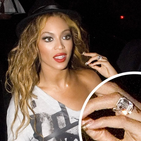 Beyonces wedding ring