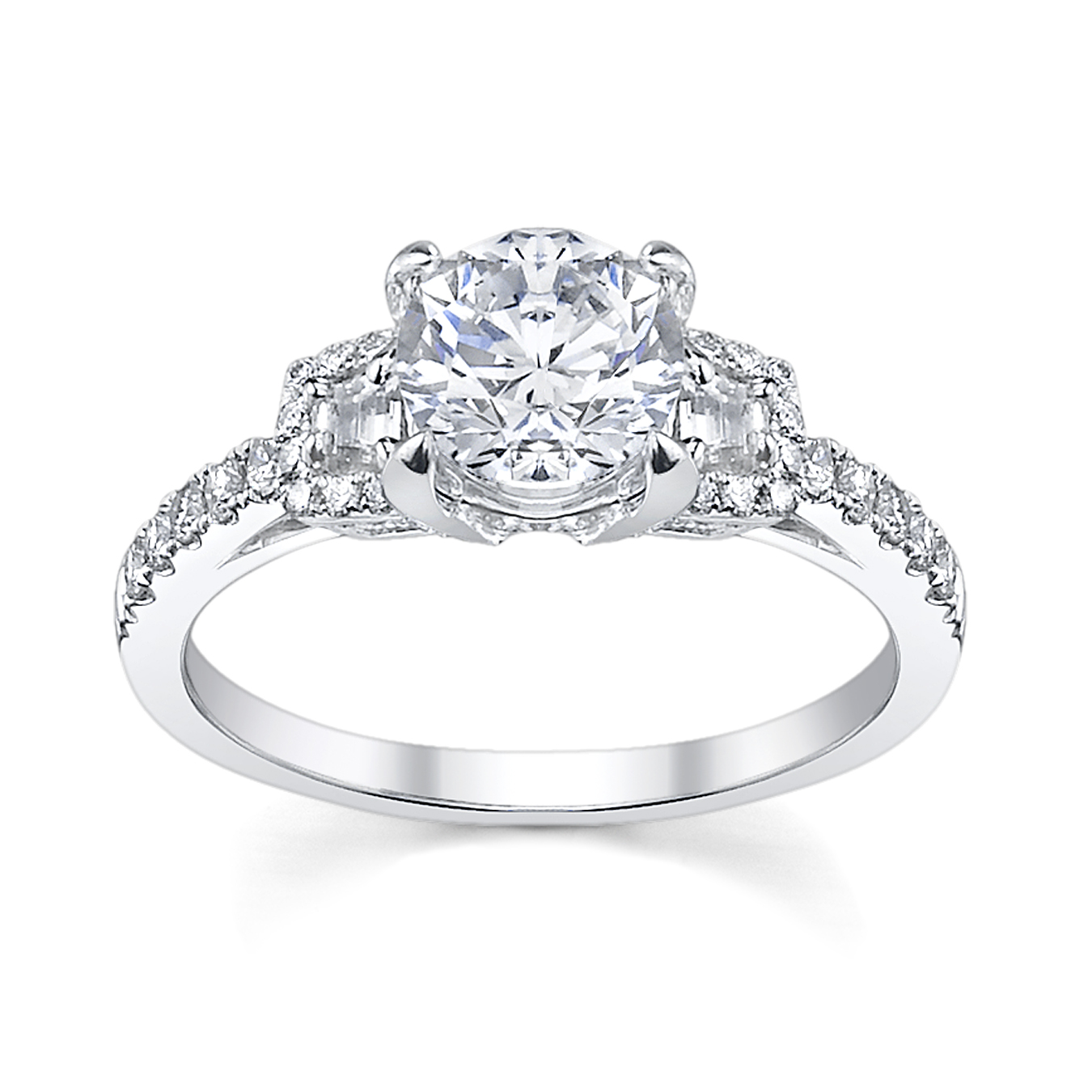 classic engagement ring - Elegant Wedding Rings