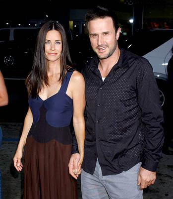 David Arquette couple