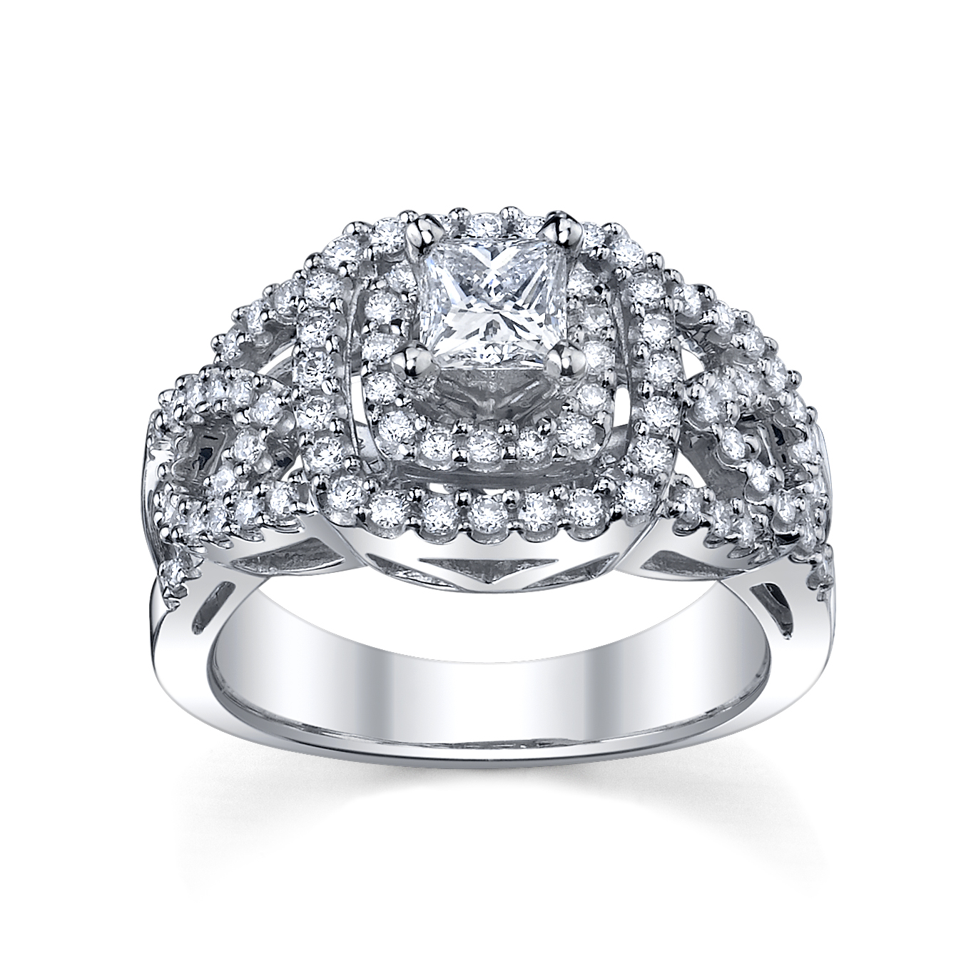 Wendy Williams Wedding Ring Halo Engagement Ring From U